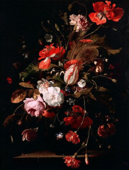 Willem van Aelst, Still-Life with Flowers