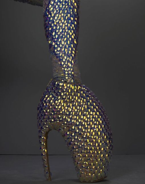 jellyfish-ensemble-platos-atlantis-spring-summer-2010-dress-leggings-and-armadillo-boots-embroidered-with-iridescent-enamel-paillettes
