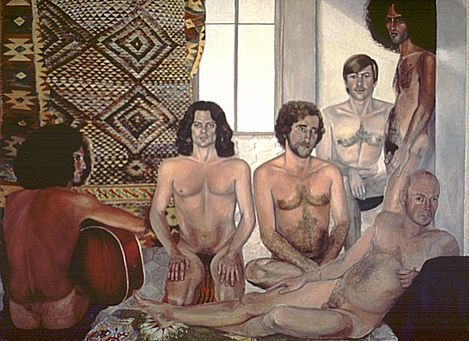 Sylvia Sleigh The Turkish Bath 1973